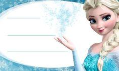 Etiqueta-Escolar-Personalizada-Anna-Frozen - Etiquetas escolares de Elsa y Anna…