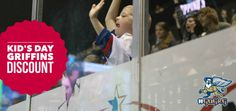 HOT GRIFFINS Ticket Deal for KID'S DAY Matinee Game