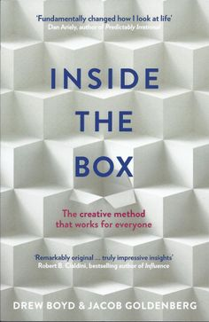 UK Edition Adaptive Design, Inside The Box, New Technology, Bestselling Author, Insight, Innovation, It Works, This Book, How To Apply
