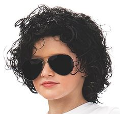 Rubies Michael Jackson Curly Child Wig. #51547, #RubiesDomestic, #RubiesMichaelJacksonCurlyChildWig #MichaelJackson Rubie's brings fun and fantasy to dress-up with the broadest selection of costumes and accessories, offering everything from full mascot suits to masks and wigs, from deluxe licensed costumes to simple starter pieces, from costume shoes to character make-up, and so much more! Still family...   Read the rest of this entry » http://michaeljacksonreminisce