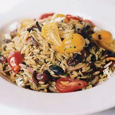 Niçoise-Style Orzo Salad // More Great Pastas: http://www.foodandwine.com/pasta-recipes #foodandwine