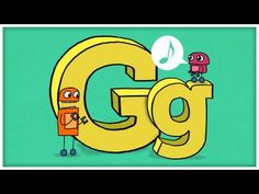 abc song the letter g quot gimme g quot by storybots Abc Learning Videos, Educational Videos, Alphabet Video, Alphabet Songs, Kids Alphabet, Abc Songs, Kids Songs, Letter G Activities, Story Bots