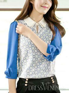 Gorgeous Korean Style Lace Blouse.