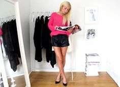 If I was feeling brave on the legs front. LOOKBOOK_Victoria Törnegren - Something pink