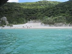 White sand beaches of Arraial do Cabo, Brazil; Book Brazil with Travel Expert Briana Thiodet: briana.t@travelstore.com