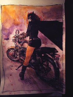 Twitter / tommyleeedwards - Batgirl commission