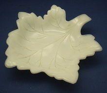 Westmoreland Milk Glass Maple Leaf Dish