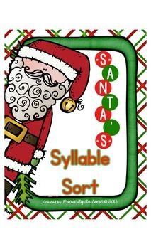 Santa's Syllable Sort