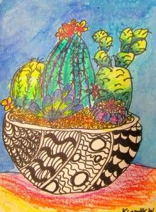 Can use for when learning about Mexican folk art or for zentangle or overlapping