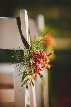 A Natural & Romantic Wedding With Homemade Details: Kim & Chris