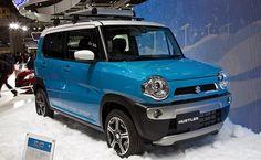 スズキ 新型SUV軽自動車 ハスラー 東京モーターショー