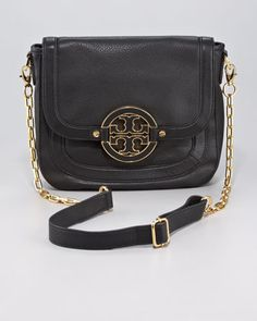 Amanda Flap-Top Crossbody Bag by Tory Burch at Neiman Marcus.