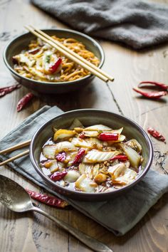 Spicy Sichuan Cabbage