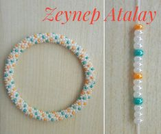 Kum boncuk tığ işi 5 Christmas decoration ideas for your RV Planning to hit the road this Christmas with your family? Surely you would like to add some holiday cheers to your rolling home. Crochet Bracelet Pattern, Crochet Beaded Bracelets, Bead Crochet Patterns, Beaded Bracelets Tutorial, Bead Crochet Rope, Beaded Bracelet Patterns, Seed Bead Bracelets, Beading Patterns, Beaded Crochet