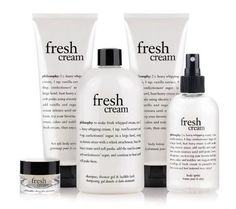 Philosophy Fresh Cream collection - {Favorite Scent Ever… I stockpile this!!!}