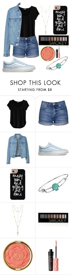 """Untitled #97"" by aly267 on Polyvore featuring Cosabella, Topshop, Vans, Casetify, Disney, House of Harlow 1960, Forever 21, Milani and Benefit"