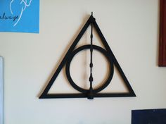 Whalen convinced me to get the Elder wand at Universal Studios- he and his dad made this awesome display for it! :)