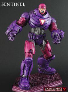 Marvel Legends Style Custom Modern Sentinel By Jin Saotome - Marvel - MarvelousNews.com