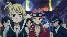The change of Edolas :   Lucy is mean & uses her fists  Natsu gets motion-sickness when he not driving(when he drives he doesn't get motion sickness?)     Juvia gets annoy by Gray because Gray bothers Juvia     Gray loves Juvua and gets cold(puts on layers of cloths)      Cana doesn't DRINK not even a drip  Gajeel is smart,new reporter etc XD