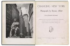 Berenice Abbott, Changing New York | Object:Photo | MoMA