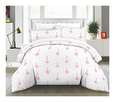 Lullaby Bedding TCOBrina 3 Piece Ballerina Cotton Printed Comforter Set Twin *** Want additional info? Click on the image.