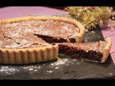 Receita de Tarte de Chocolate e Noz - Clara de Sousa Portuguese Recipes, Cookie Desserts, Sweets, Food And Drink, Cookies, Camera Phone, Baking, Cheesecakes, Watch