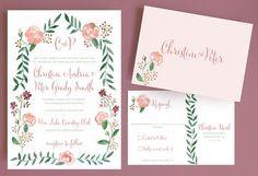 watercolor-flower-wedding-invitation-with-flower-border-and-monogram-watercolor-rose.jpg (570×389)