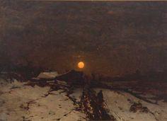 Ludwig Munthe ~ Winter landscape