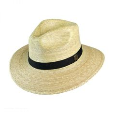 50b5287fc9f Tula Hats Explorer Palm Straw Safari Fedora Hat Sun Protection