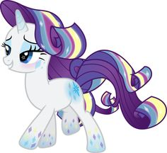 Rainbow Power Rarity by TheShadowStone on DeviantArt