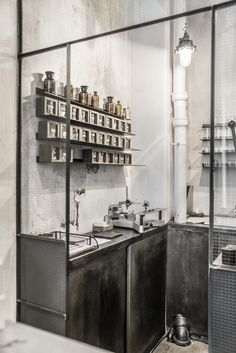 Le Labo Fragrances in Paris was also like exploring accident find, but amazing one! I love everything which has its own strong concept and Le Labo is for sure one of them. Check from their website mo Attic Playroom, Attic Loft, Attic Stairs, Attic Rooms, Attic Library, Attic Ladder, Attic Window, Window View, Kitchen Storage Bench