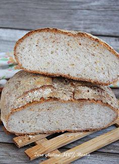 Pagnotta di pane senza glutine fatto in casa , facile e veloce da preparare. Una ricetta senza impasto perfetta per chi è alle prime armi.