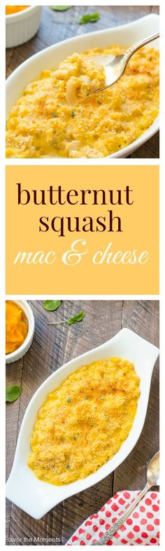 Butternut Squash Mac and Cheese   flavorthemoments.com