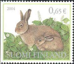 ◇Finland 2004 Alpine hare (Lepus timidus)