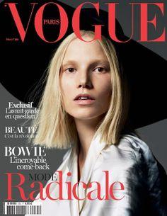 Suvi Koponen par Mert & Marcus première couverture mars 2013 Vogue Paris