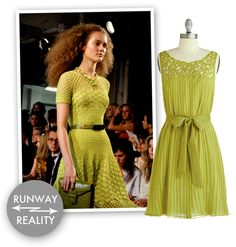 Chartreuse Bridesmaids Dress