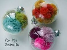 Image result for wool pom pom craft ideas
