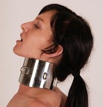 Posture Collar, Neck Collar, Collar And Cuff, Female Chastity, Collars Submissive, Daddy Aesthetic, Metal Choker, Female Supremacy, Plus Size Bra
