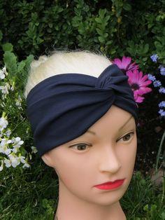 Turban Jersey Stirn-Haarband von Maiblume - fiore di maggio auf DaWanda.com Twist Headband, Etsy, Fashion, May Flowers, Moda, Fashion Styles, Fashion Illustrations