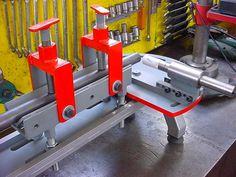 Tools for notching, Tube notcher Welding Tools, Welding Projects, Cool Tools, Diy Tools, Ring Roller, English Wheel, Metal Fab, Room Door Design, Metal Working Tools