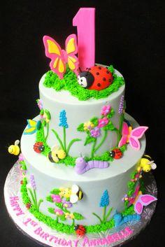 Ladybug Cake  1-tier maybe?