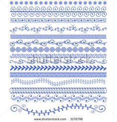 vector henna patterns