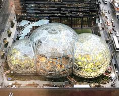 Are plants the secret to innovation? Amazon thinks they might be, which is why their new Seattle HQ doubles as a green house. Take a peek... What Is Amazon, Amazon New, Seattle Pictures, Seattle Photography, Beach Trip, Beach Travel, Dome House, Geodesic Dome, Paradise Island