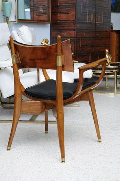 talian Modern Dining Chairs, 1950s