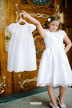 Would love to do this with the blessing outfit on their baptism day! And on wedding day