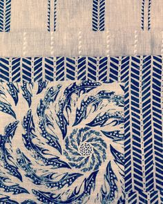 Home Comforts, Fabric Wallpaper, Blade, It Works, March, Blue And White, Study, Tapestry, Quilts