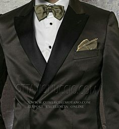 Colección #Gentleman etiqueta Blacktie #Tuxedo #Smoking Dinner Jacket online www.comercialmoyano.com MadeinItaly WWW.OTTAVIONUCCIO.COM Bespoke Excelencia