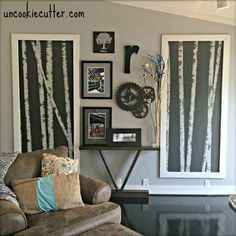14 Crazy Creative Ways To Fill Your Empty Walls (On A Budget!)