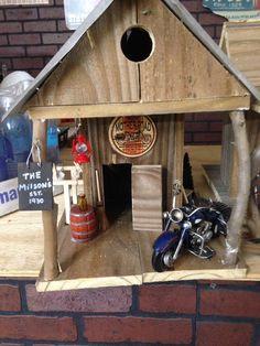 Harley Davidson birdhouse