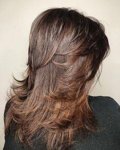 Long Wispy Feathered Shag Long Shag Hairstyles, Medium Shag Haircuts, Long Layered Haircuts, Feathered Hairstyles, Boy Haircuts, Men's Hairstyles, Formal Hairstyles, Pretty Hairstyles, Medium Hair Cuts